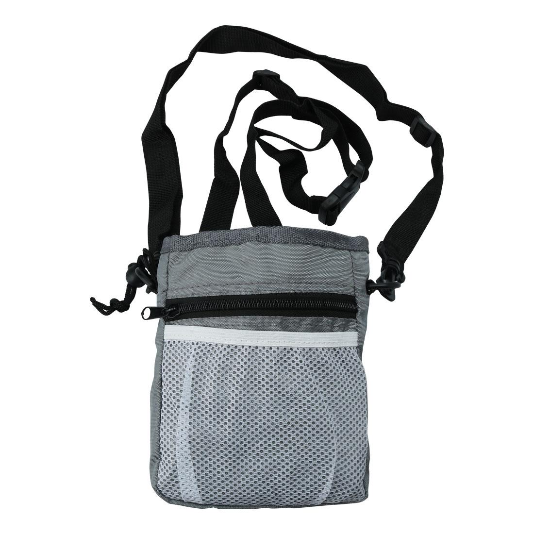 Dog Treat Training Bag Easily Carry Pets Holder Adjustable Waist Bag Orange