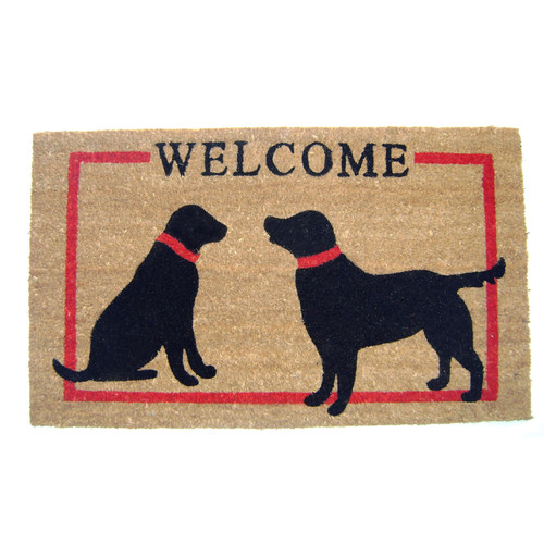 Geo Crafts, Inc Dogs Welcome Doormat