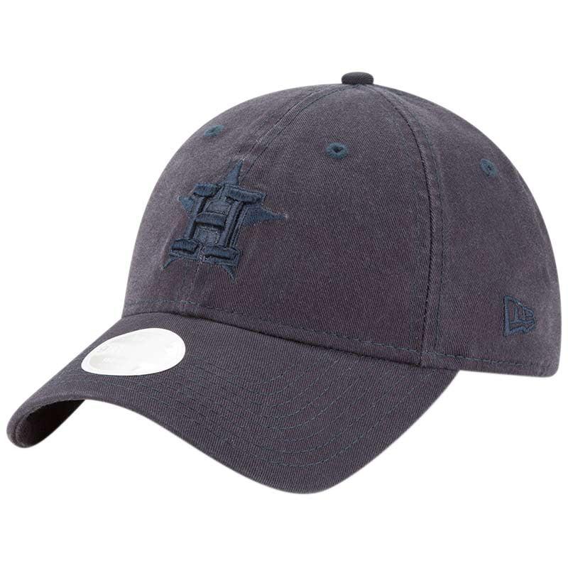 Houston Astros New Era Women's Core Classic Tonal Team 9TWENTY Adjustable Hat - Navy - OSFA