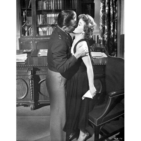 Top Secret Affair Kissing in Black Suit and Black Dress Photo - Kissing Photos