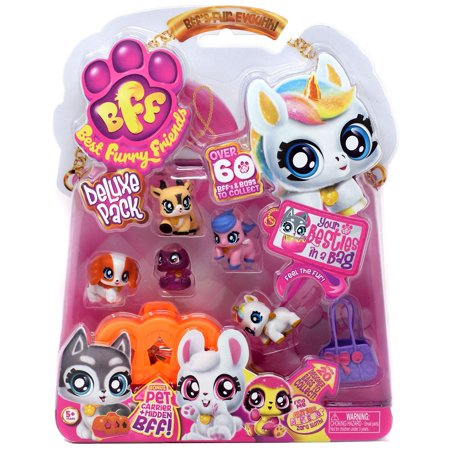 BFF Best Furry Friends Deluxe Pack Purple Jelly Zara Mini Figure