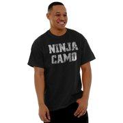 Ninja Mens T-Shirts T Shirts Tees Tshirt Camo Anime TV Show Turtle Graphic Gift