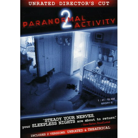Paranormal Activity 2 (Unrated Director's Cut) - Halloween 2 Unrated Director's Cut