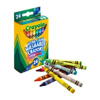 Deals on Crayola Washable Crayon Set, 24-Color Set