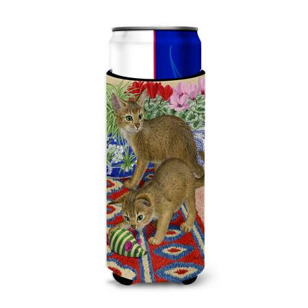 Abyssinian Kittens (Abyssinian Kitten Ultra Beverage Insulators for slim cans ASA2164MUK)