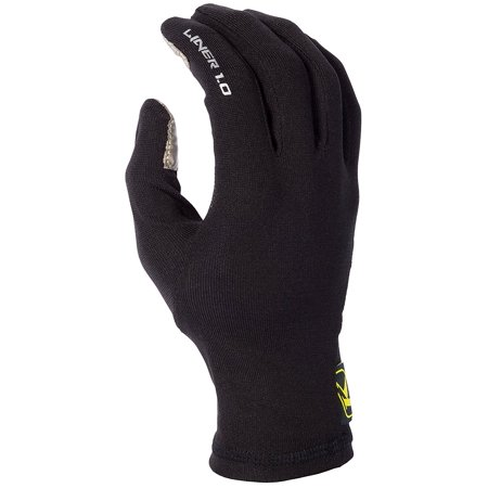 2.0 Liner Men's Snow Snowmobile Gloves - Black / Small, LINER 2.0 DRY + WARM The KLIM Glove Liner 2.0 features Polartec Power Stretch material By Klim from USA thumbnail