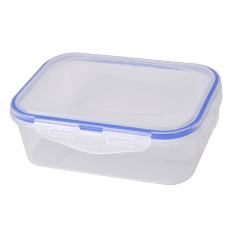 Nut Holder (Plastic Rectangle Food Peanut Nut Sugar Holder Storage Container Box Case 820ml)