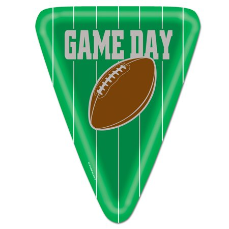 Beistle Game Day Football Night Party Dinner Plates   Pack Of 8