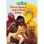 Sesame Street: Three Bears And A New Baby (Full Frame) by SONY WONDER/SMV