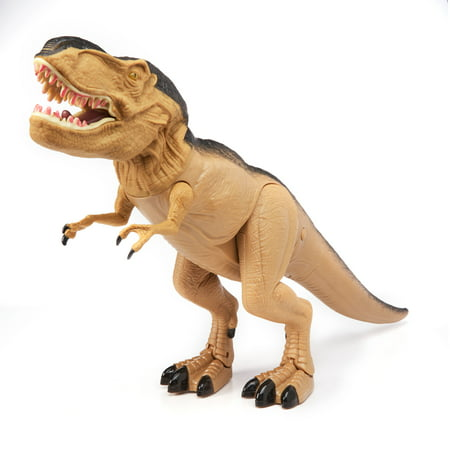Adventure Force Mighty Megasaur Battery Operated Walking T-Rex Toy (D Trex)