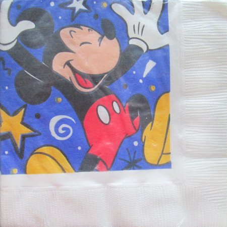 Mickey Mouse Napkins - Mickey Mouse Vintage Lunch Napkins (16ct)