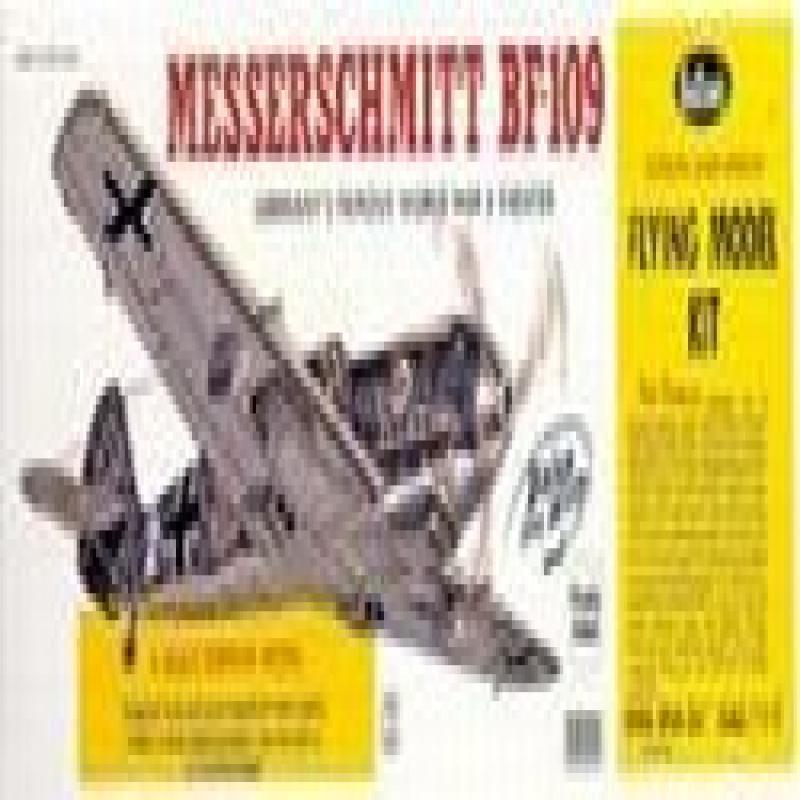 Messerschmitt Bf-109 Model Airplane by Guillows by
