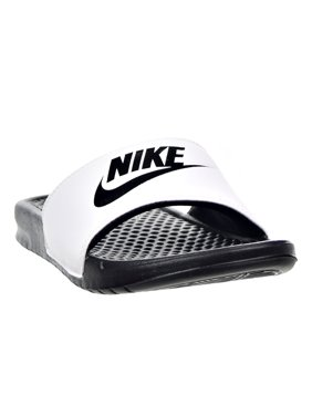 63821ae12518 Free shipping. Product Image Nike Benassi JDI Men s Sandals White Black  343880-100
