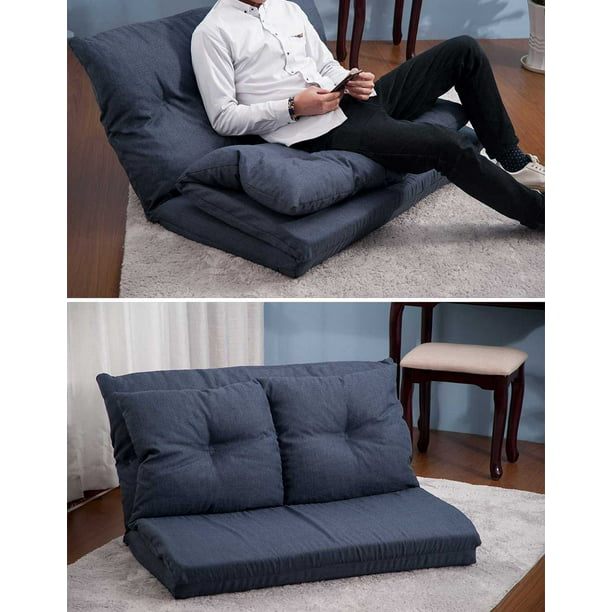 Folding Futon Chaise Lounge Sofa