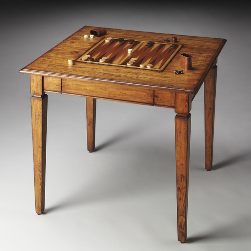 Butler 30'' Mountain Lodge Backgammon Table by Butler Specialty