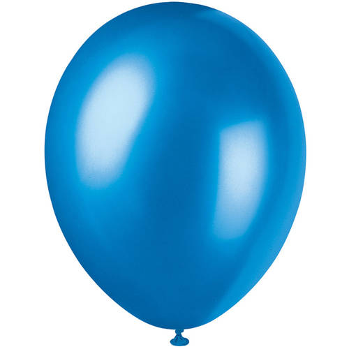 Pearlized Latex Balloons, 12 in, Cosmic Blue, 50ct