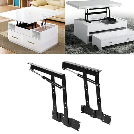 2x Practical Lift Up Coffee Table Mechanism Hardware Top Lifting Frame Furniture , Mechanism Hardware Top Lifting, Coffee Table Lifting Frame