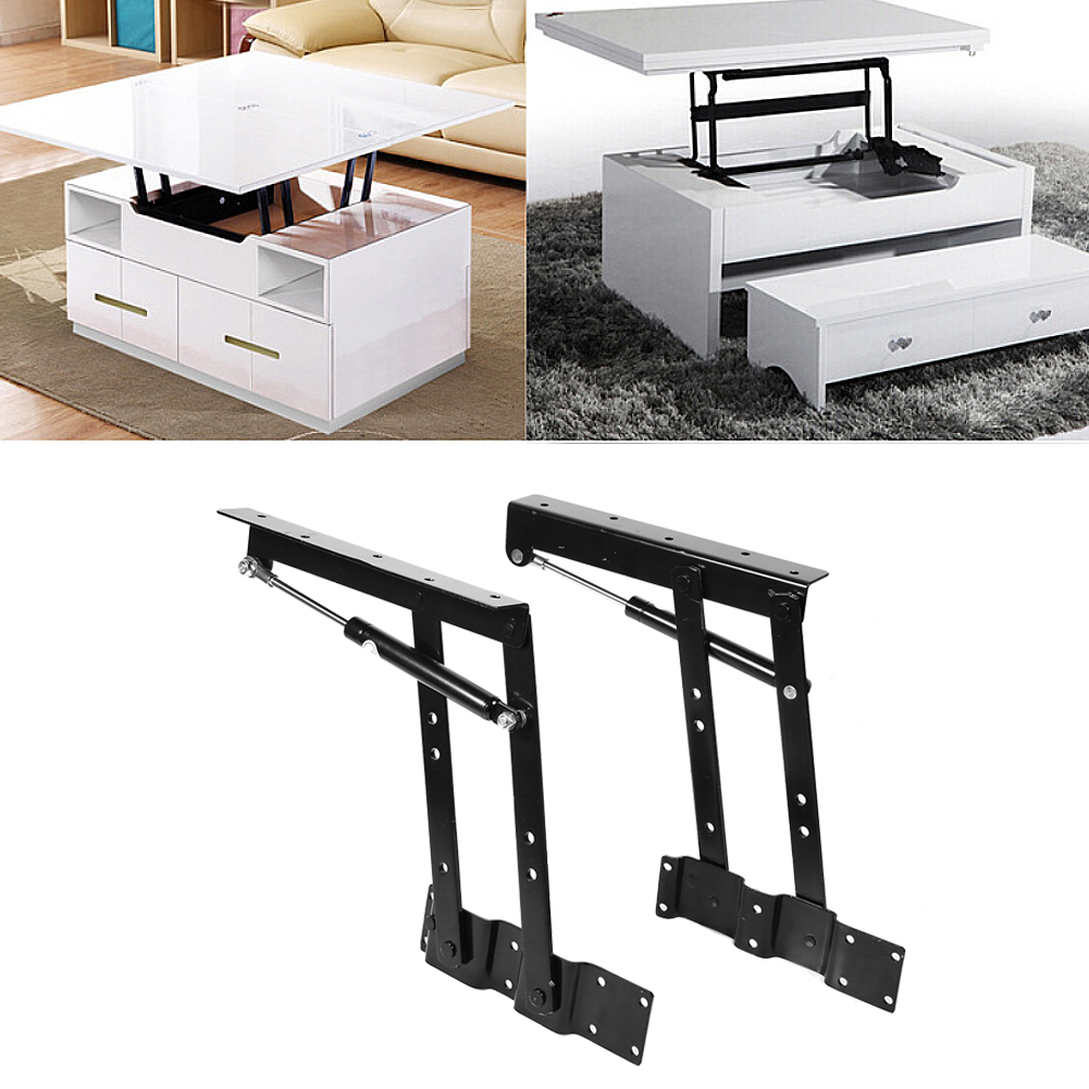 Ordinaire 2x Practical Lift Up Coffee Table Mechanism Hardware Top Lifting Frame  Furniture , Mechanism Hardware Top Lifting, Coffee Table Lifting Frame