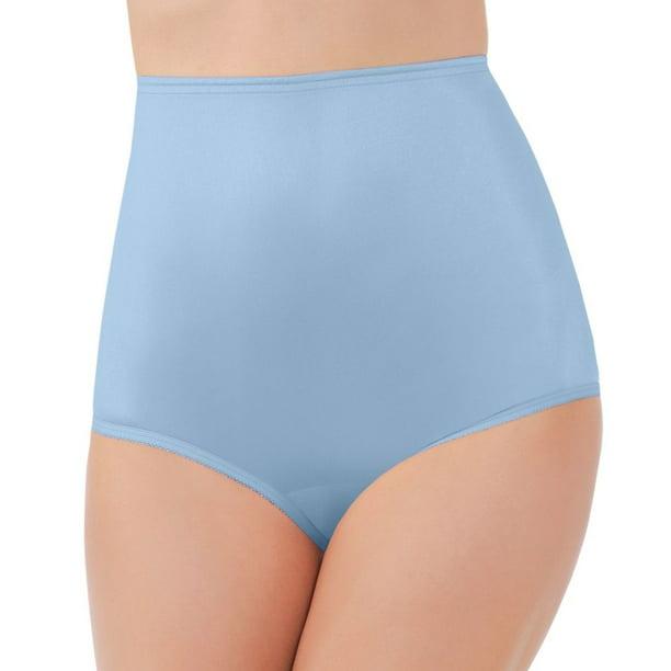 Vanity Fair Women/'s 15712 Ravissant Nylon Brief Panty *4 Pack* Fawn 8//XL