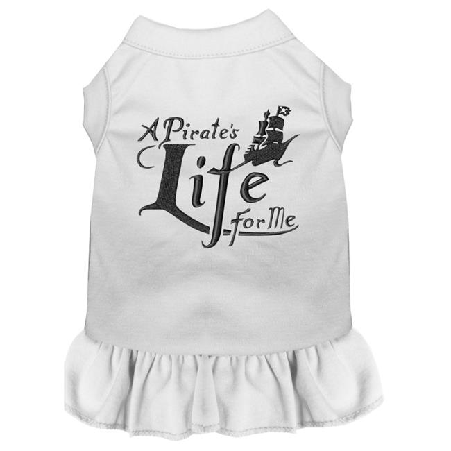 A Pirate's Life Embroidered Dog Dress White Med (12) - image 1 de 1