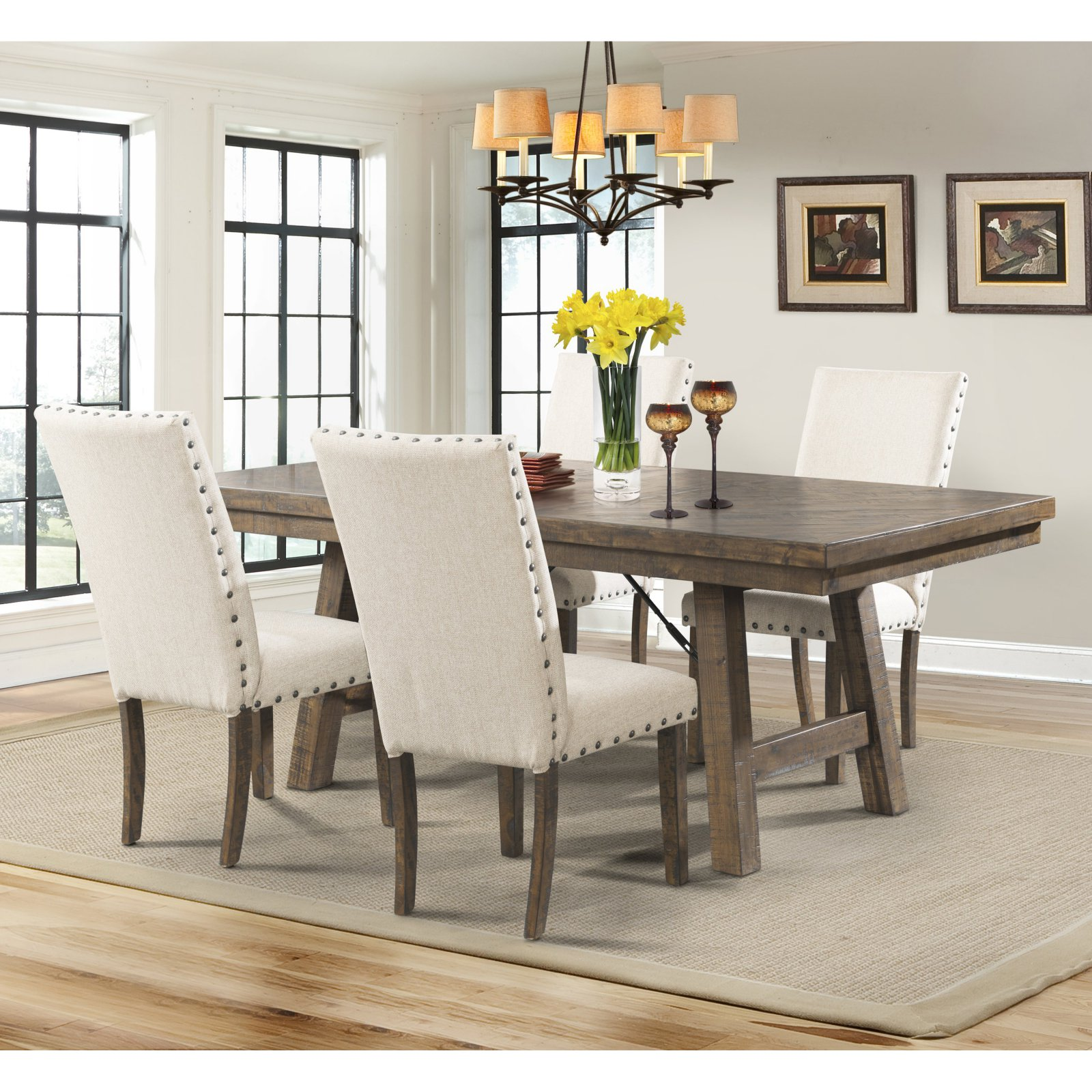 Picket House Dex 5 Piece Dining Table Set