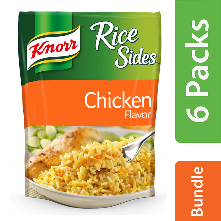 (6 Pack) Knorr Chicken Rice Side Dish, 5.6 oz