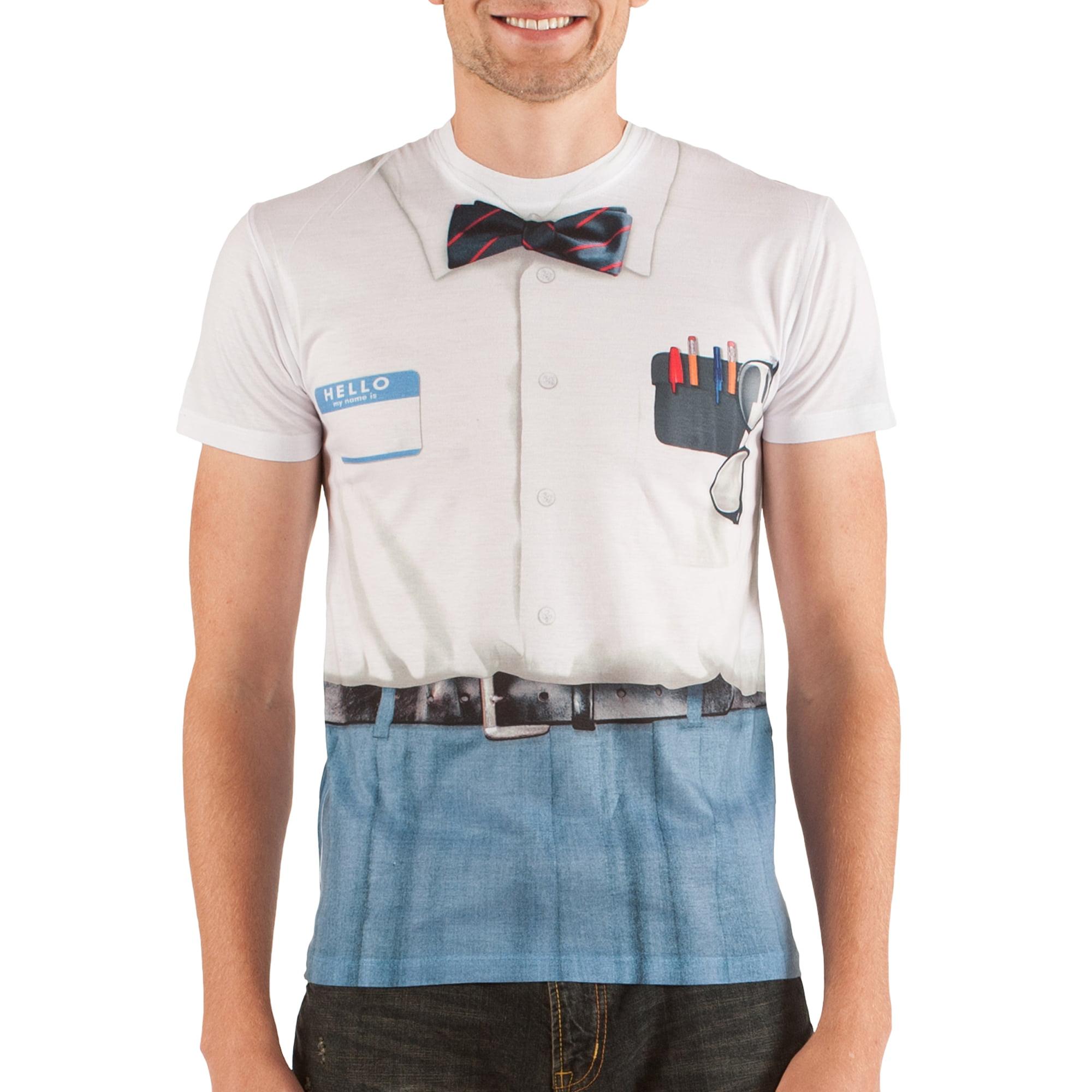 Nerd Men's Short Sleeve Tee Shirt