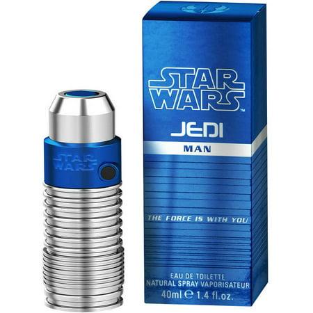 4 Star Fragrances (Star Wars Jedi Eau de Toilette Fragrance Spray for Men, 1.4 fl)