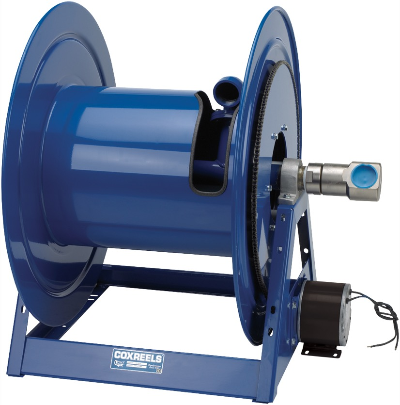 COXREELS 1195-1728-C-BUXX Beveled Gear Hand Crank Hose Reel 2inx60ft 1500PSI by Coxreels