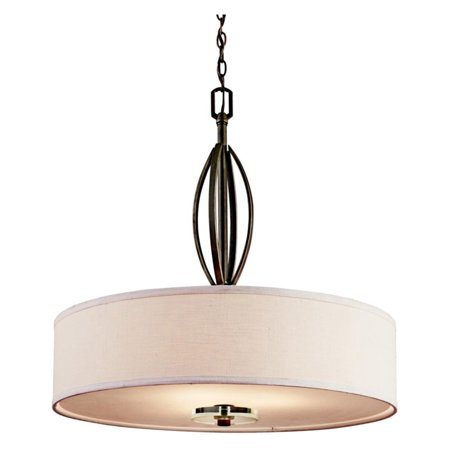 26 Inch Wide Pendant Light - Kichler Leighton 42482OZ Pendant - 26 in. - Olde Bronze