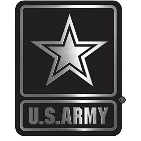 United States Army Silver Tone Auto Emblem