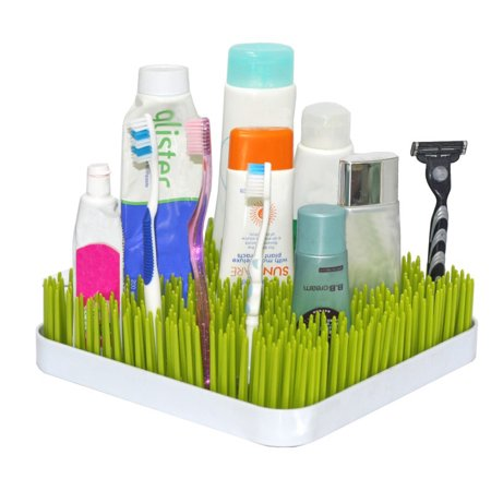 Green Lawn Inspired Meadow Design Bottle Drying Rack With