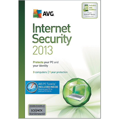 AVG Internet Security + PC TuneUp 2013 3-User 1-Year  $79.99 (Email Delivery)