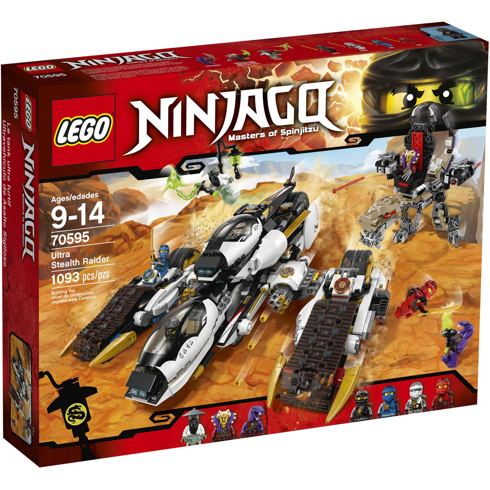 Lego NINJAGO Ultra Stealth Raider, 70595 by LEGO Systems, Inc.