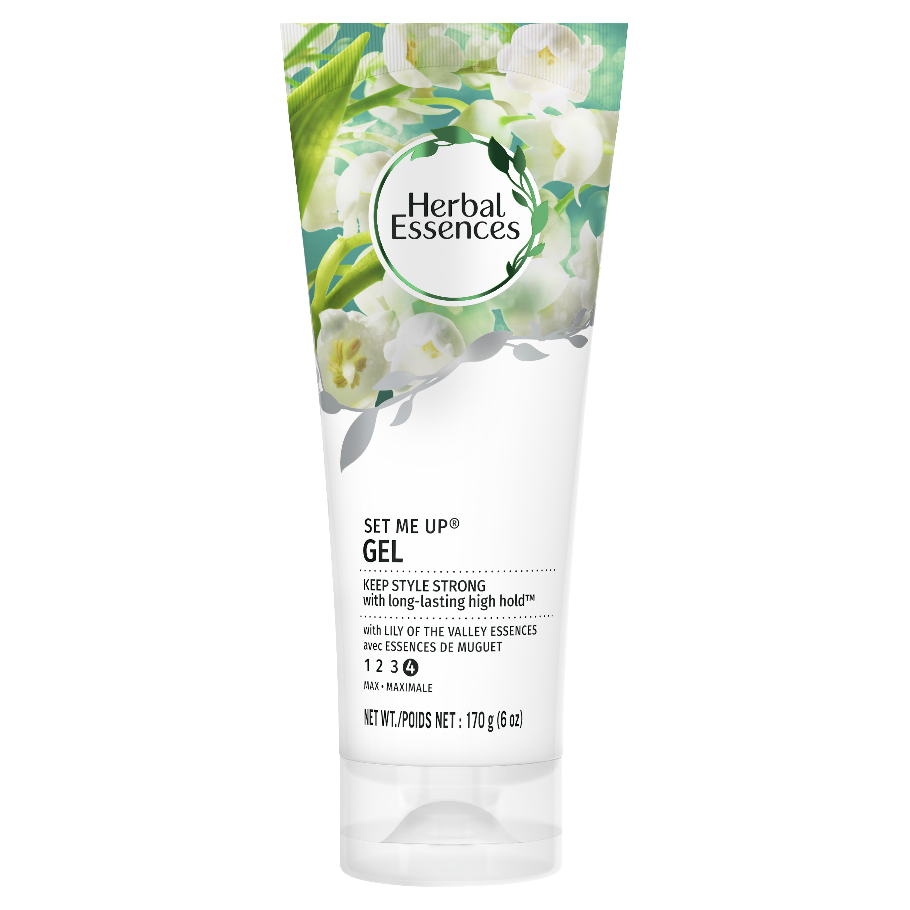 Herbal Essences Set Me Up Maximum Hold Hair Gel with Lily of the Valley Essences, 6 oz