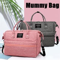 Mummy Maternity Baby Nappy Diaper Crossbody Bag or Backpack Rucksack Nursing Handbag Travel Tote Bags