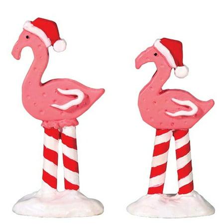 Village Pink Flamingos -