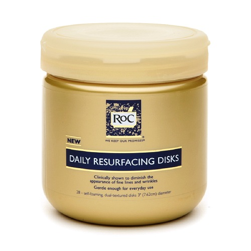 Roc Daily Cleaning Resurfacing Anti Wrinkle Disks For Face - 28 Ct, 2 Pack