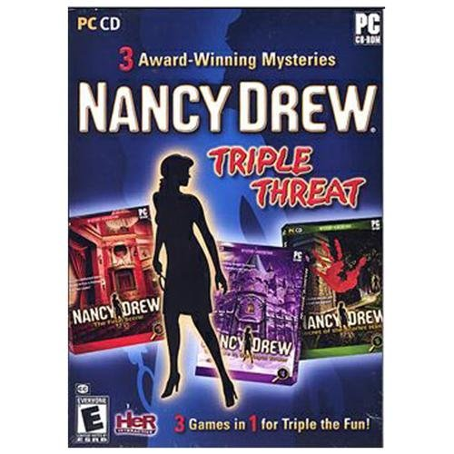 Nancy Drew: Triple Threat Compilation - Windows, Features - By Her Interactive Ship from US