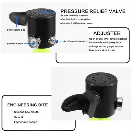 0 5L Diving Cylinder Mini Diving Euipment Mini Scuba Equipment Oxygen Tank  for Diving Enthusiast