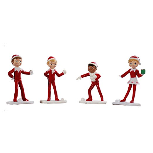 An Elf's Story Figurines: North Pole Elves - Walmart.com