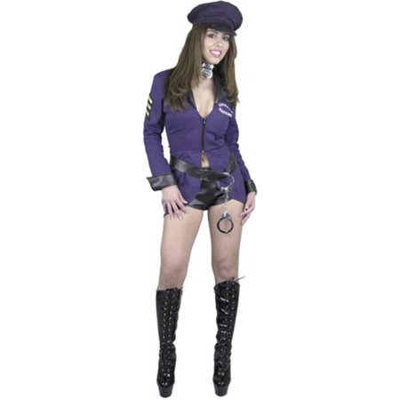 Adult Sexy Naughty Police Officer Costume~Adult Sexy Naughty Police Officer Costume
