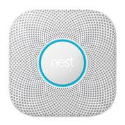 Refurbished Nest S3000BWES Protect Smoke & Carbon Monoxide Alarm, Battery (2nd gen)