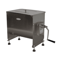 Hakka 80-Pound capacity Tank Stainless Steel Manual Meat Mixer (Mixing Maximum 60-Pound for Meat)
