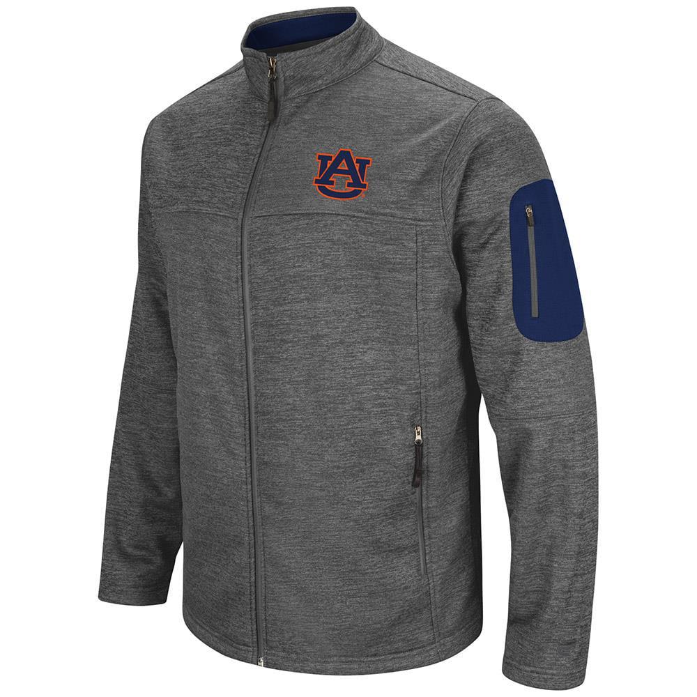 Mens Auburn Tigers Full Zip Jacket by Colosseum