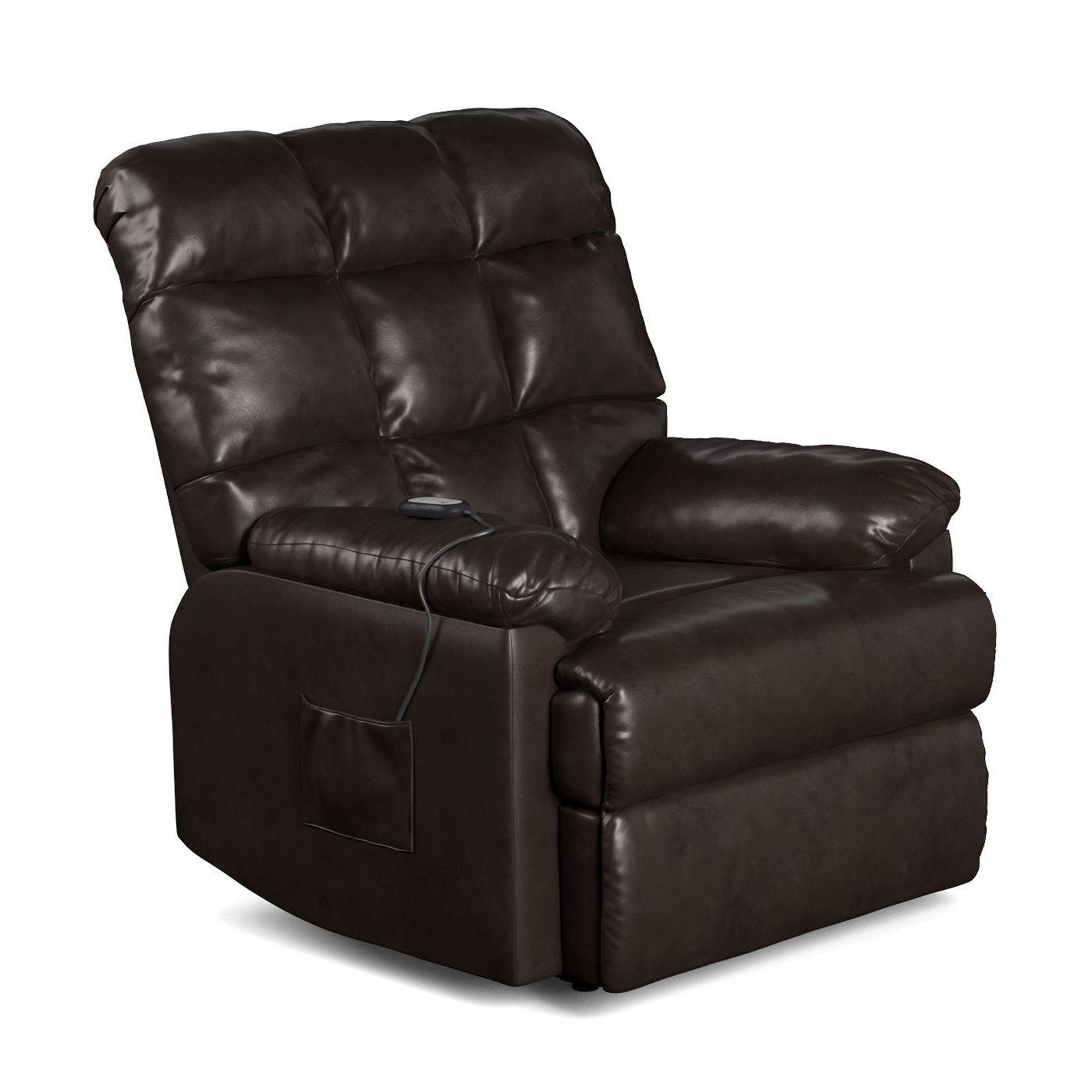 ProLounger Power Recliner and Lift Wall Hugger Chair in Renu Leather