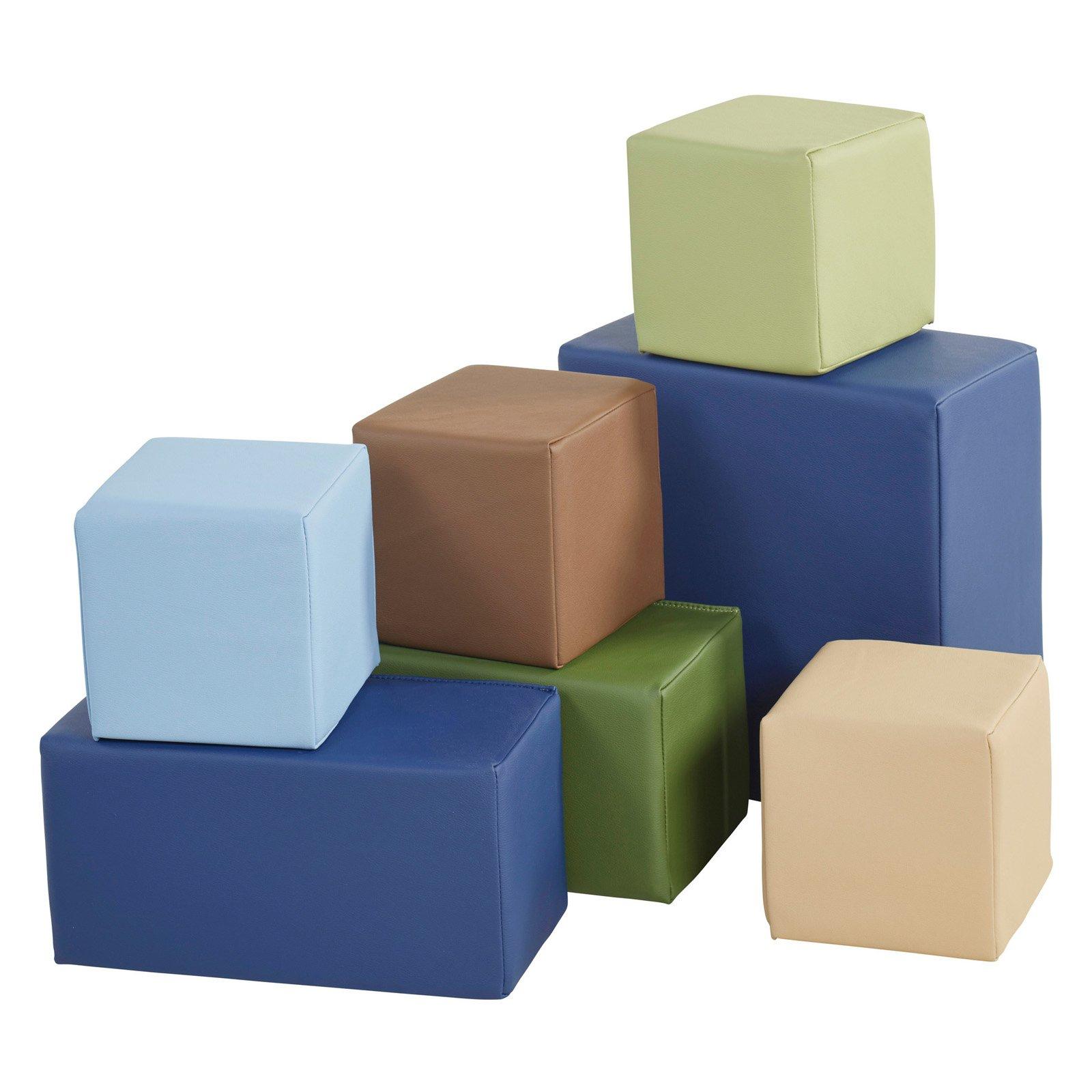 ECR4KIDS SoftZone 7 Piece Big Blocks Walmart