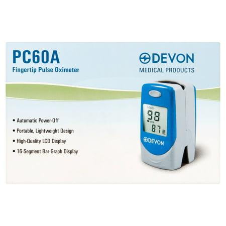 Devon Fingertip Pulse Oximeter Pc60a