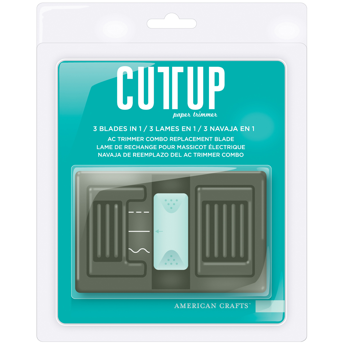 Cutup Combo Trimmer Replacement Blade-For AC90703