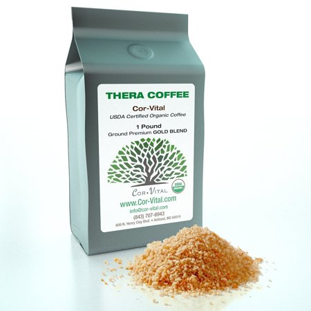 The Real Deal Enema Coffee Best Coffee for Enema - 1lb Bag - 100% Organic Green Beans Finely Ground - *Free* Detox Recipe - Gerson